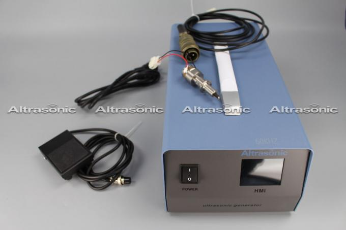 Portable Ultrasonic Digital Generator HMI LCD Screen