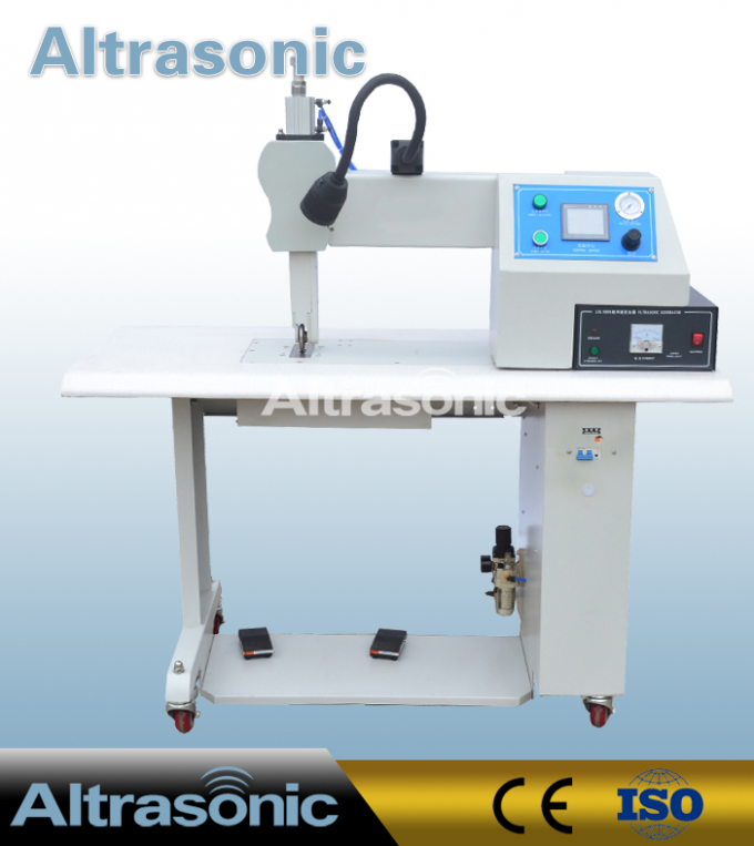 Non Woven Bag Ultrasonic Sealing Machine Sewing Cutting With Various Roller Patterns