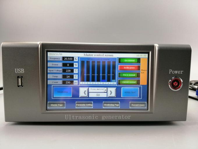 Compact Ultrasonic Welding Generator Driving Power Support PLC Control System