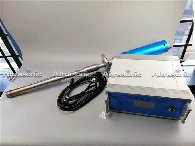 2000W Industrial Ultrasonic Metal Treatment Unit For Casting Of Aluminum Slabs