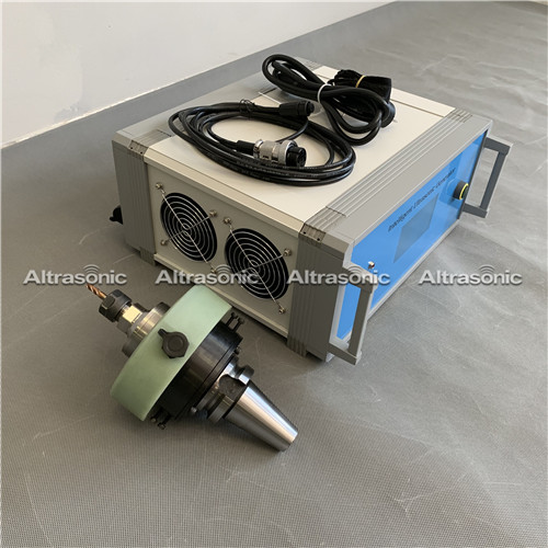 High Power Ultrasonic Milling Machine With Rotating Multi Blade Cutting Head