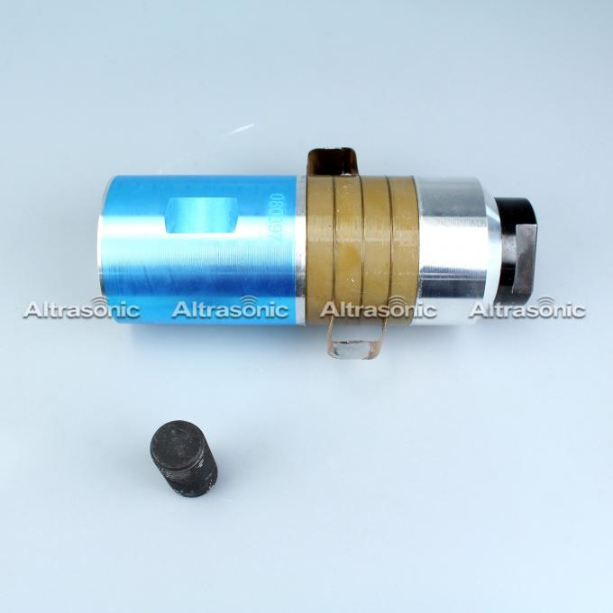 15kHz Ultrasonic Welding Transducer With PZT4 , High Frequency Transducer