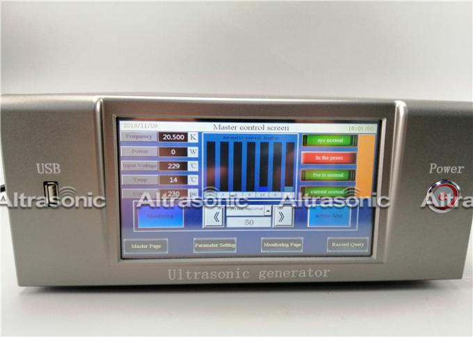 Intelligent Ultrasonic Generator 20kHz 1000W With RS485 Communications