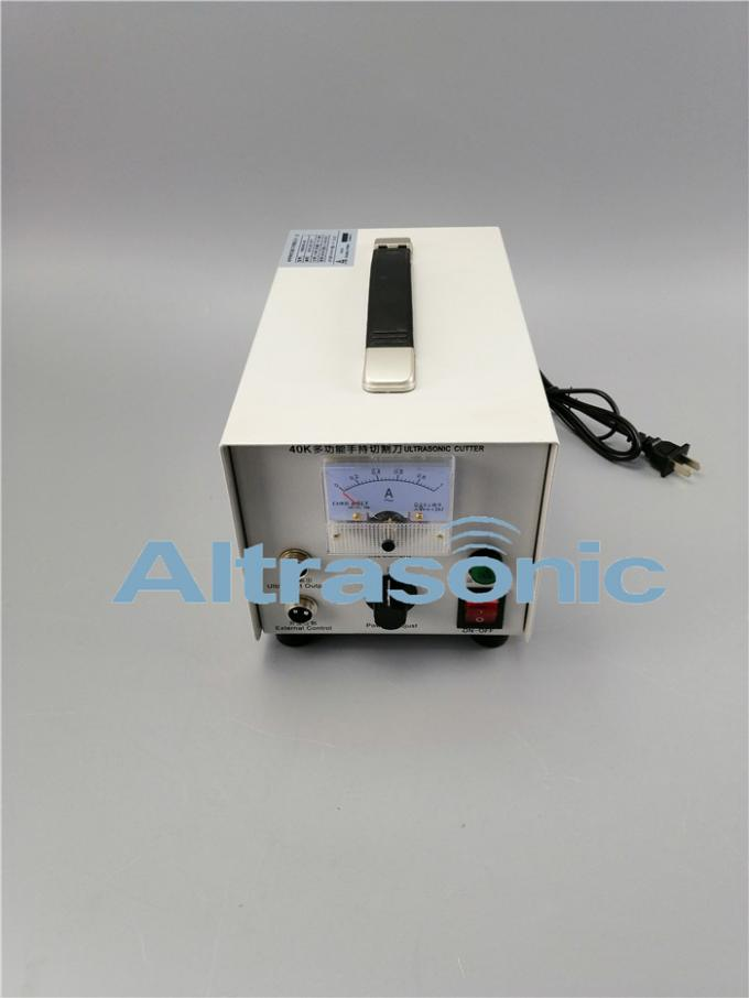 Ultrasonic 40 Khz Generator Cutter Power Supply For Cutting Plastic And Non - Woven
