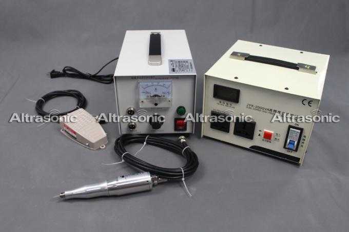Replaceable Blades Ultrasonic Textile Cutting Machine 3M Length Of Cable
