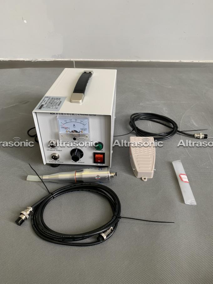 40K Ultrasonic Cutting Machine For Non - Woven Fabric , CE Certified