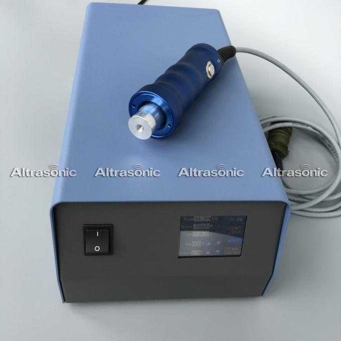 Cylinder Type Hand Welder Ultrasonic Assembly Spot Welding System ABS PP