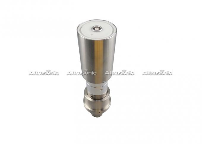 20 Khz Ultrasonic Welding Transducer With Steel Booster Replacement Rinco Type