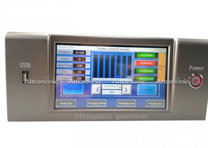 20kHz Digital Ultrasonic Power Supply Generator For Ultrasonic Welding Machine