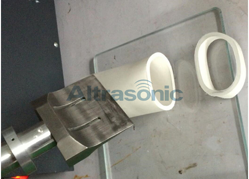 Titanium 40khz Ultrasonic Cutting Machine For Rubber , Ultrasonic Cutting Devices
