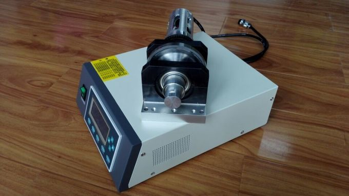 800 - 1000W 35Khz Radial Fabric Ultrasonic Sealing Machine with Rotary Horn