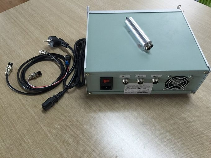 Generating Harmonic Frequency 60Khz Ultrasonic Power Supply Turning Sonotrode with 100w 15mm Diameter Transducer