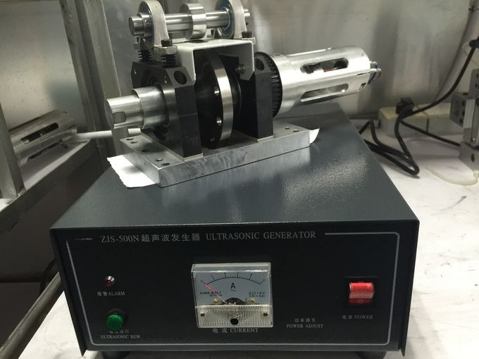 800w Wheel Seamless Ultrasonic Sealing Machine Welding Two 150g / m2 PP Material