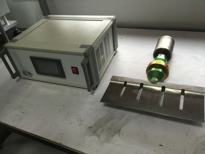 Blade Length 255mm Titanium  Ultrasonic Food Cutter with External Air Cooling and PLC control System
