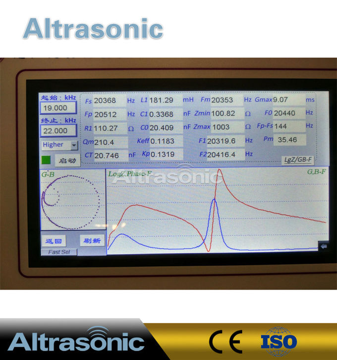 1Khz~5Mhz Ultrasonic Piezoceramic Parameters Measuring Instrument  240*190*100mm