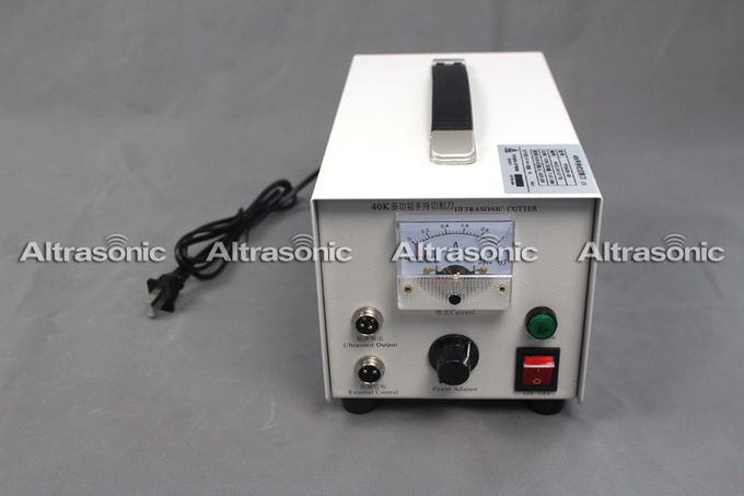 Ultrasonic Cutting Equipment with Replaceable Blades / Ultrasonic Fabric Cutting Machine