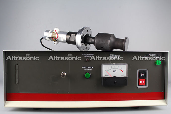 20Khz High Power ultrasonic welder horn For lace sewing machine with Steel Titanium Materials