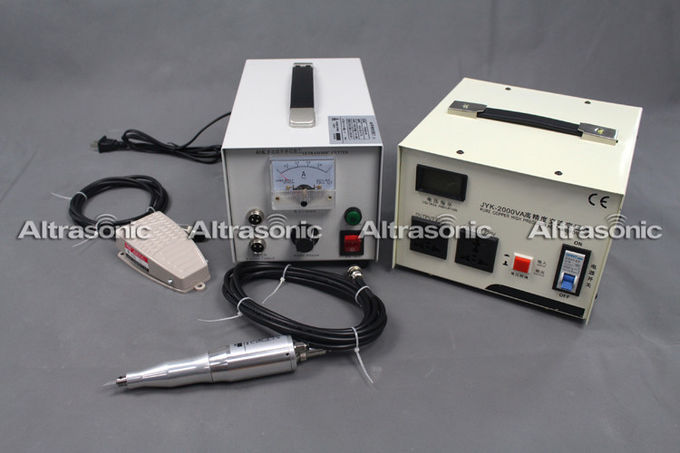 40Khz 110V Portable Ultrasonic Power Supply with Cutting Blade for Cutting Non woven