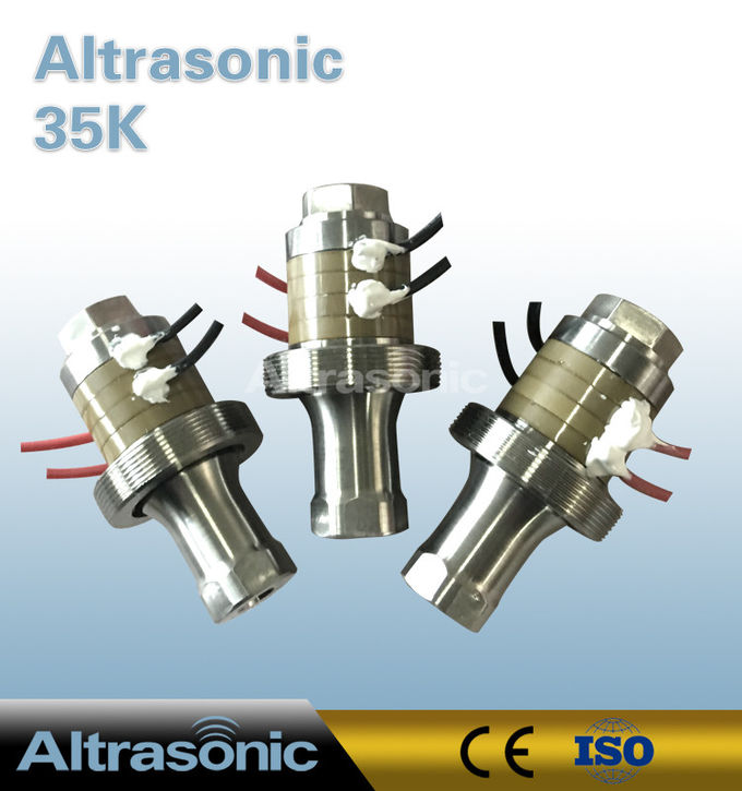 35Khz Ultrasonic Converter with Alumium Shell for Drilling Machine