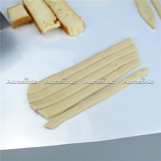 305mm Dough Slicing Ultrasonic Food Cutting Machine With Digital Generator