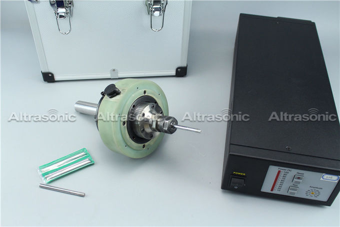Rotary Ultrasonic grinding spindle with core coil power transform