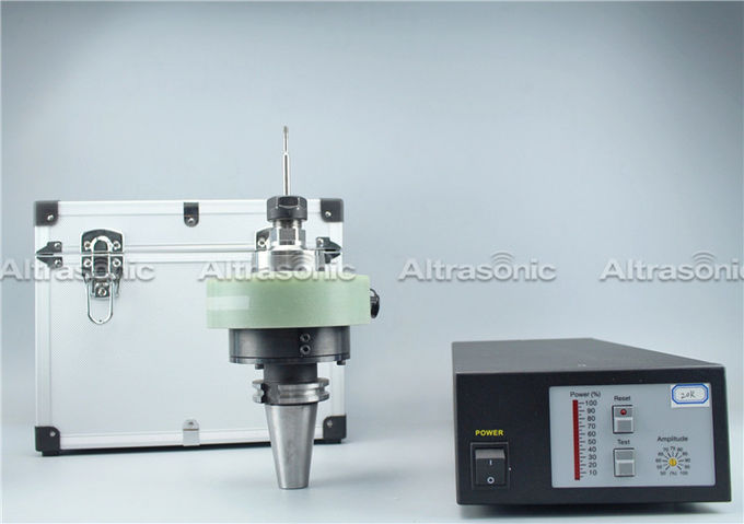 40Khz High Speed Ultrasonic Glass Drilling With Contactless Power Transmission