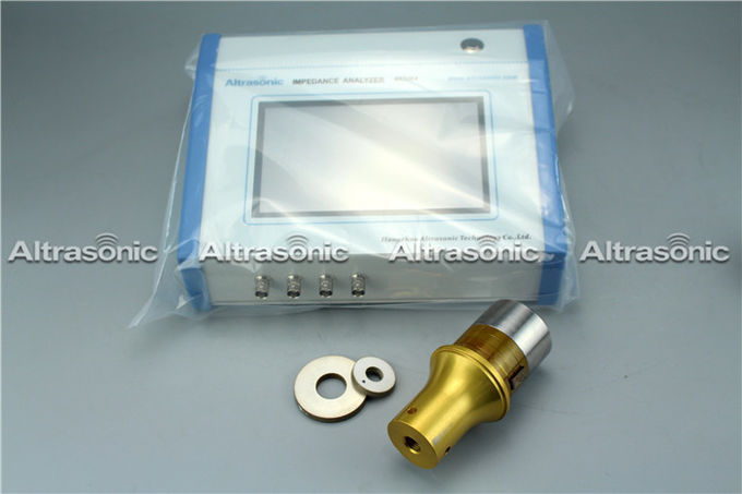 8 Inch Full Touch Screen Measuring Instrument For Ultrasonic Transducers and equipment, Frequency checking