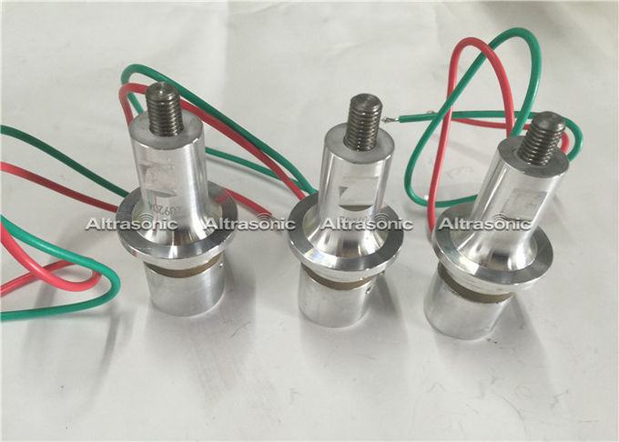 High Performance Ultrasonic Welding Transducer Of 35Khz Rinco Replacement Type