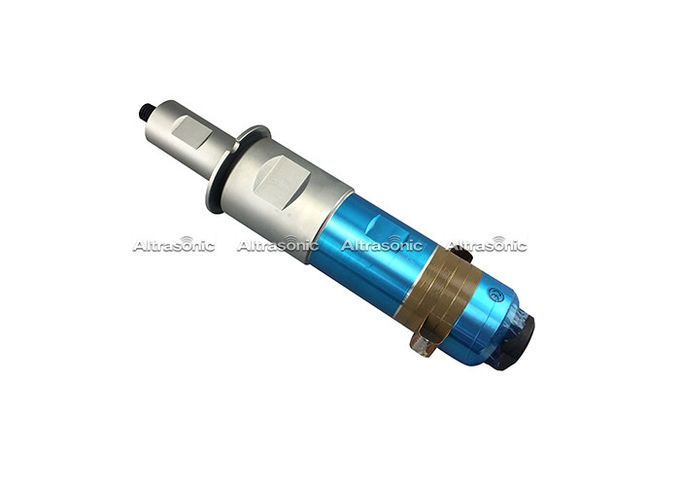 20Khz 1500W Ultrasonic Welding Transducer With Steel Booster For Welding Machine